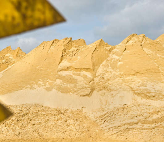 membre extraction sable